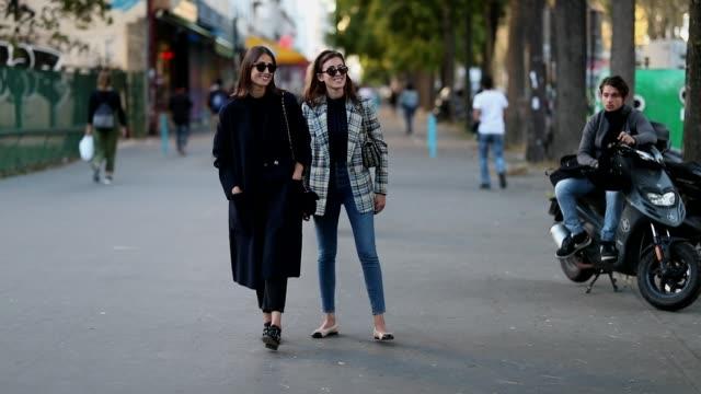 Sylvia Haghjoo Julia Haghjoo is seen outside Koche during Paris Fashion Week Womenswear Spring/Summer 2019 on September 25 2018 in Paris France