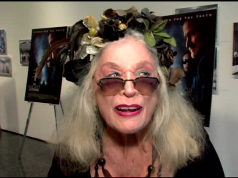 sylvia miles talks about the heat, being a huge toni collette fan and her favorite robin williams movie- 'the fischer king' at the premiere of 'the... - toni collette stock videos & royalty-free footage