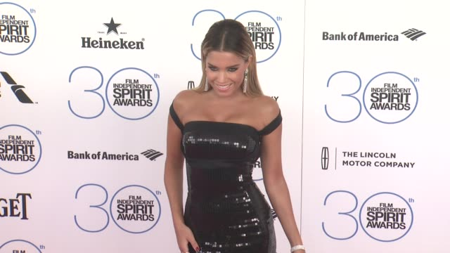 Sylvie Meis at the 30th Annual Film Independent Spirit Awards Arrivals at Santa Monica Beach on February 21 2015 in Santa Monica California