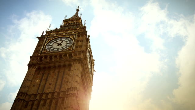 symbol of london: the big ben - big ben stock videos & royalty-free footage