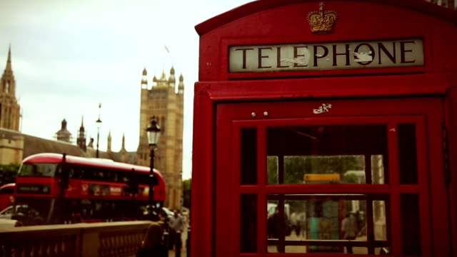 symbols of london - booth stock videos & royalty-free footage