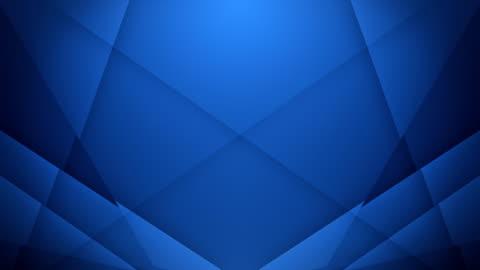 symmetric lines background (dark blue) - loop - blue background stock videos & royalty-free footage