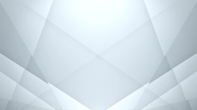 symmetric lines background (white) - loop - triangle shape stock videos & royalty-free footage
