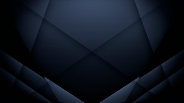 Symmetric Lines Background (Black) - Loop