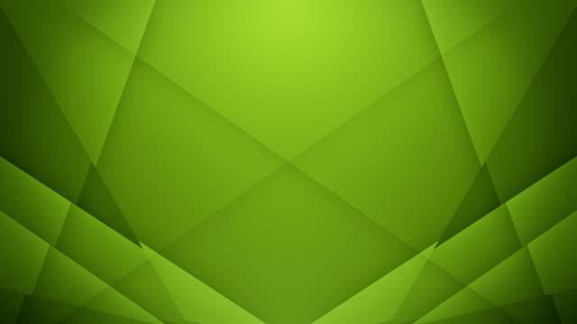 symmetrische linien hintergrund (grün) - loop - dreieck stock-videos und b-roll-filmmaterial
