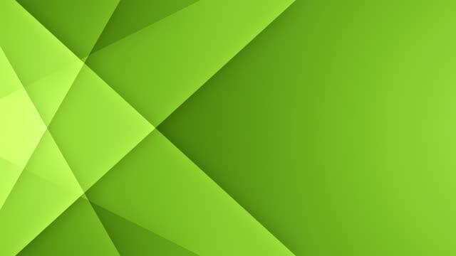 vidéos et rushes de lignes symétriques avec copie espace (vert) - boucle - origami