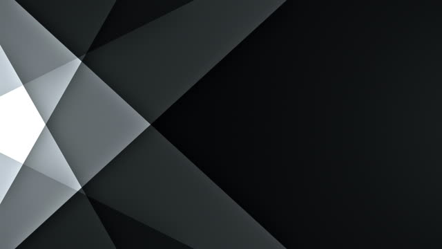 symmetric lines with copy space (black) - loop - gray color stock videos & royalty-free footage