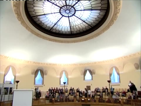 synod meeting in chuch of england assembly hall. - synod stock videos & royalty-free footage
