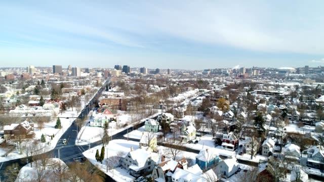 Syracuse winter skyline