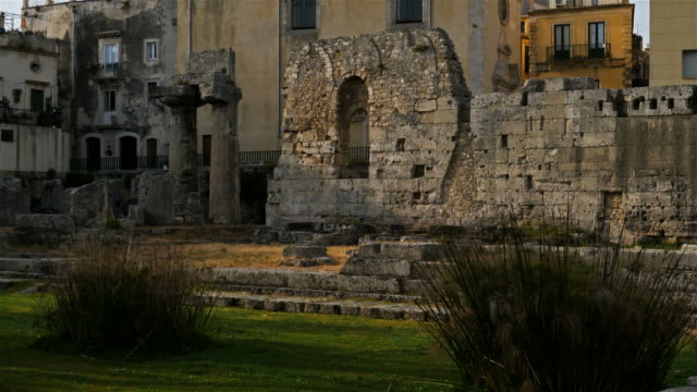 syracuse,ortygia, sicily, italy - 6th century bc stock videos and b-roll footage