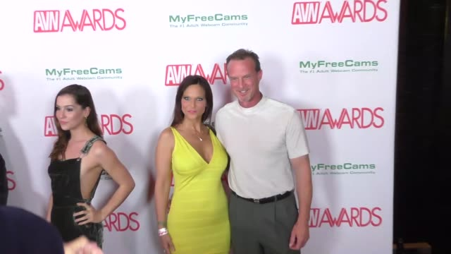 syren de mer and steven o'masters at the 2017 avn awards nomination party at avalon nightclub on november 17 2016 in hollywood california - nomination stock videos & royalty-free footage