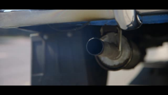 syrena 102 - exhaust pipe - matte stock videos & royalty-free footage