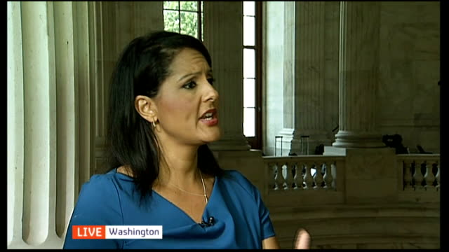 diplomacy un security council meets to discuss russian plan on chemical weapons usa washington dc int karen finney live interview sot - diplomacy stock videos & royalty-free footage