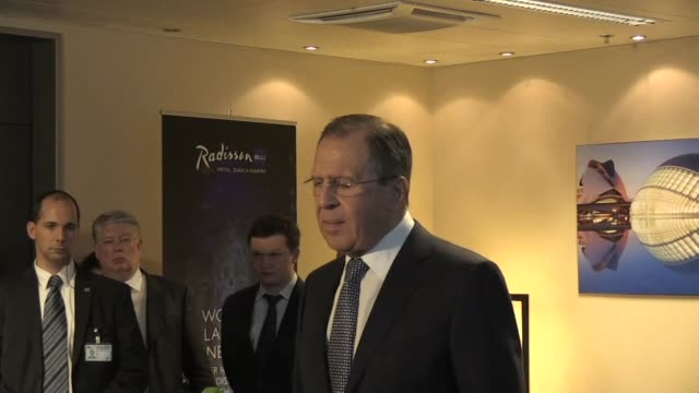 syria peace talks are expected to begin within the next few days according to russian foreign minister sergei lavrov also stating that russia is... - foreign minister stock videos and b-roll footage