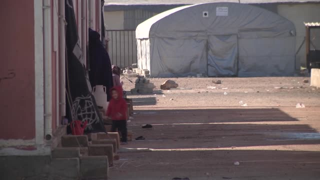 syrian children who were orphaned in civil war keep living in orphanage established by the foundation for human rights and freedom and humanitarian... - orphanage stock videos and b-roll footage