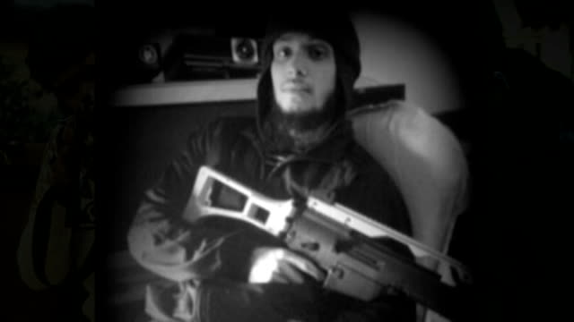 British men admit to planning terrorist acts Nahin Ahmed posing with toy gun