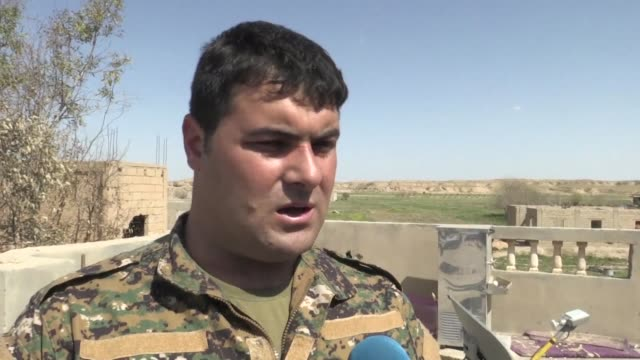 Syrian Democratic Forces spokesman Kino Gabriel says that hundreds of IS fighters including some women still remain on the outskirts of the jihadist...