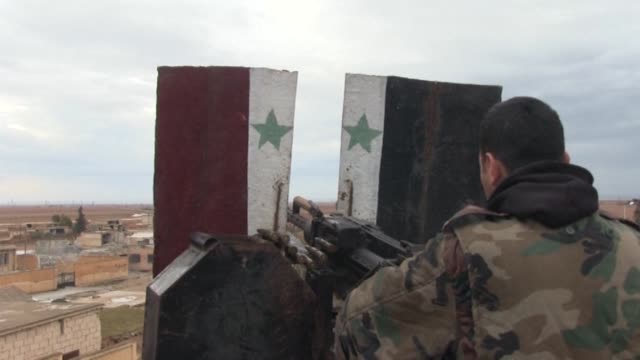 Syrian government troops seized new villages in southern Aleppo province bordering the Abu Duhur military airport