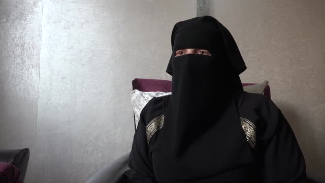 Syrian MF who escaped from prisons run by the Bashar alAssad regime speaks at an interview on march 08 2018 in Syria Women who escaped from prisons...