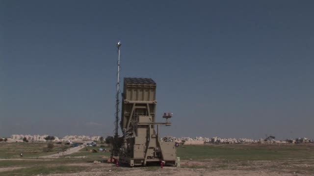 syrian officials warned that missiles are ready to retaliate after israels air strikes that hit three military sites near damascus on sunday the... - ashkelon stock videos and b-roll footage