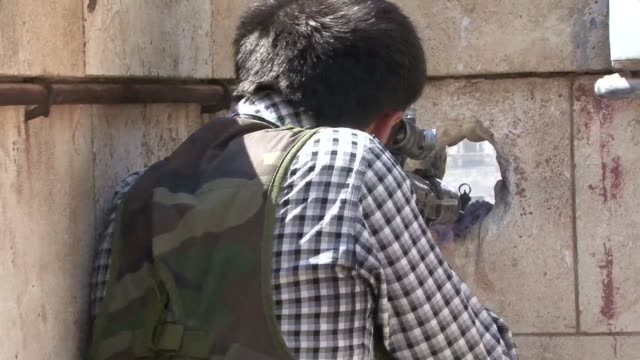 Syrian rebels claim they have control of three quarters of the Old City of Aleppo where they are sheltered behind white stone walls on rooftops and...