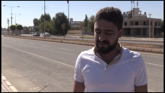 syrian refugees in southeastern turkey say they want turkish forces to clear their hometown of ypg/pkk terrorists the refugees from northeastern tal... - kurdistan workers party stock videos & royalty-free footage