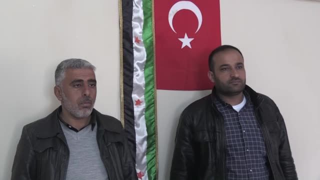syrian refugees mostafa nasir and ibrahim umair who fled tal abyad town of northern syria's raqqah city to turkey, speak at an interview in sanliurfa... - only girls stock videos & royalty-free footage
