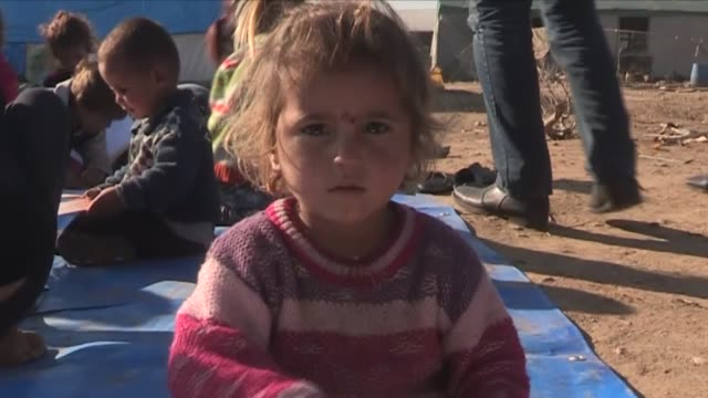 syrian refugees who fled their homes due to attacks of government forces take shelter in makeshift tents in torbali district in izmir turkey on... - izmir stock videos & royalty-free footage
