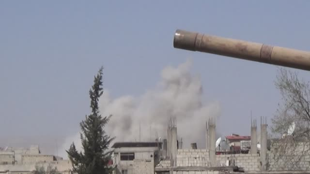 Syrian regime forces continue to advance to suppress the last pockets of resistance in and around Damascus