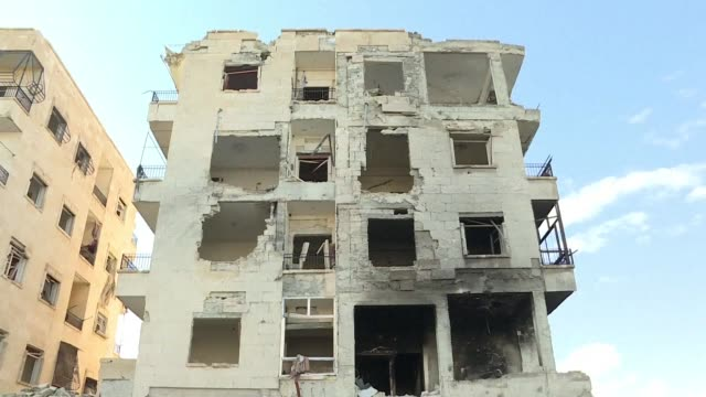 syria's army now controls 60 percent of the former rebel stronghold of east aleppo after seizing a new district despite international outcry over its... - east stock videos & royalty-free footage