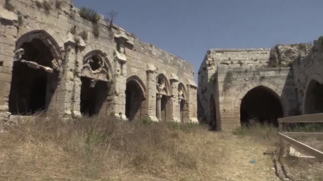 Syria S Tourism Ministry Held A Tour Of The Krak Des Chevaliers