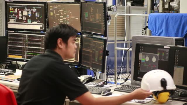 Sala di controllo del sistema di monitoraggio