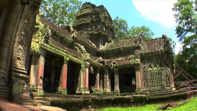 ms ta prohm temple, cambodia - circa 12th century stock videos and b-roll footage