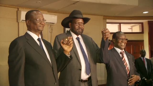 Taban Deng Gai was sworn in on Tuesday as the new vice president of South Sudan replacing Kiirs former deputy Riek Machar