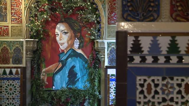 tablao flamenco 'torres bermejas' - western european culture stock videos & royalty-free footage
