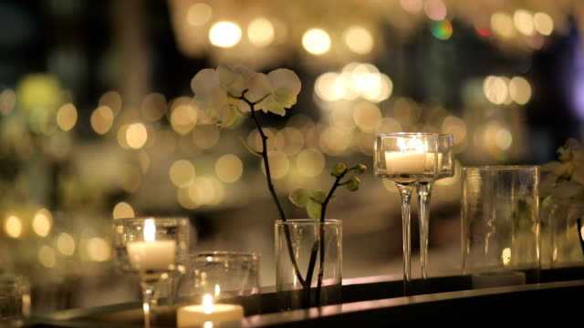 table decoration - wreath stock videos & royalty-free footage