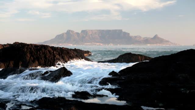 Table Mountain across the sea