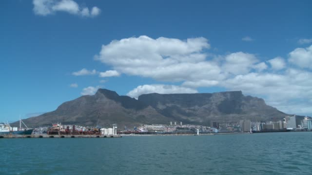 table mountain and lion's head, cape town. available in hd. - lion's head mountain stock videos and b-roll footage