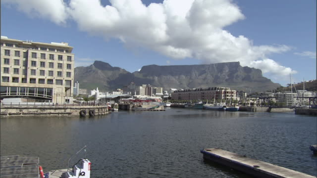WS Table Mountain and waterfront area/ Cape Town, South Africa