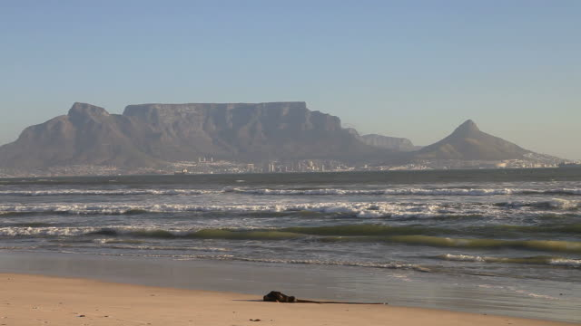 table mountain cape town south africa - south stock videos & royalty-free footage