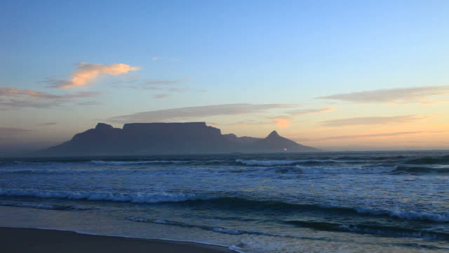 table mountain - local landmark stock videos & royalty-free footage
