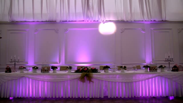 Table Setting For Wedding Reception Stock Footage Video Getty Images