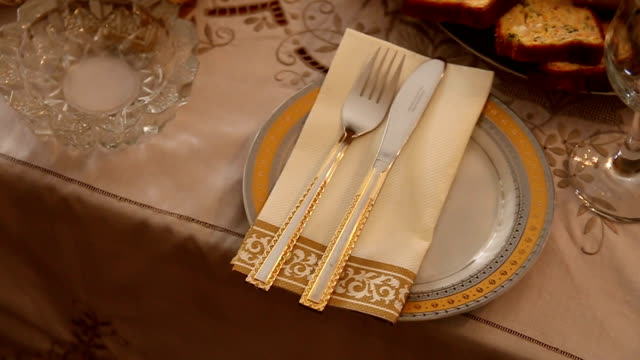 table setting - eating utensil stock videos & royalty-free footage