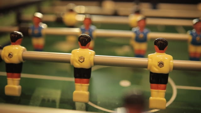 table soccer - table stock videos & royalty-free footage