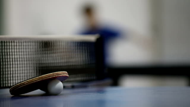 table tennis equipment - table tennis stock videos & royalty-free footage
