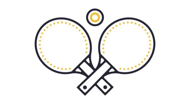 Table Tennis Icon Animation