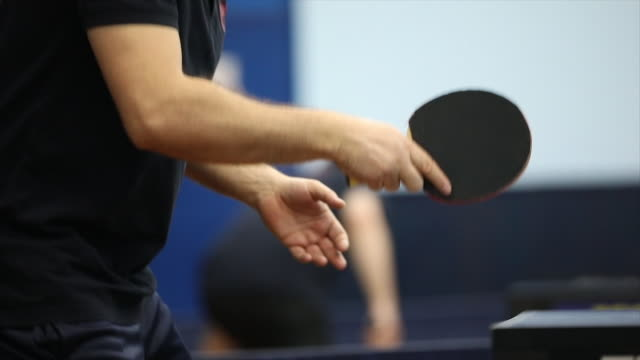 table tennis racket - table tennis stock videos & royalty-free footage