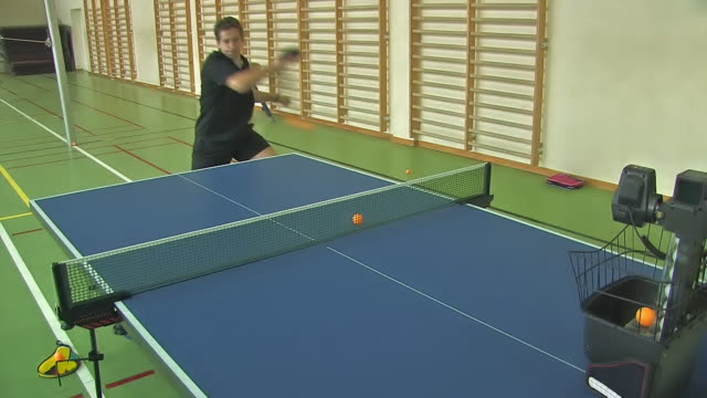 table tennis training - table tennis stock videos & royalty-free footage