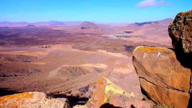 Tablero del Saladillo views towards Malpaís grande- Fuerteventura