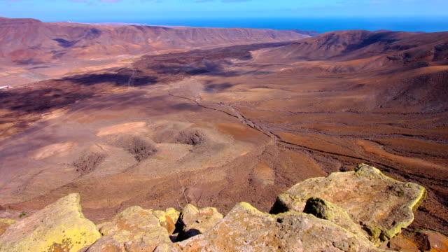 Tablero del Saladillo views towards Pozo Negro valley- Fuerteventura